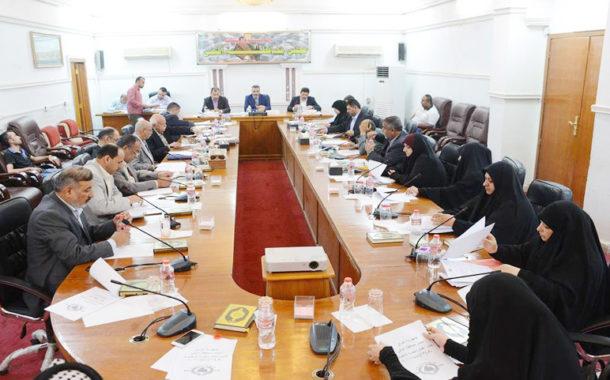 مجلس المثنى يصوت على وفاء الخالدي رئيسا للجنة الاستثمار