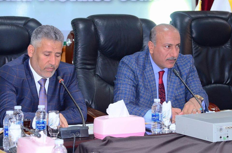 رئيس مجلس محافظة كربلاء يؤكد على اهمية دور الجامعات في تنفيذ البرنامج الحكومي