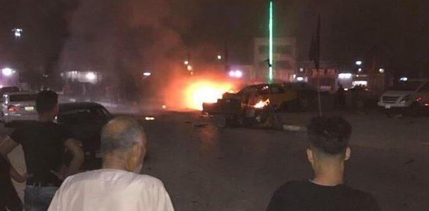 مقتل طفل واصابة اثنين آخرين بانفجار عبوة جنوب شرقي بغداد