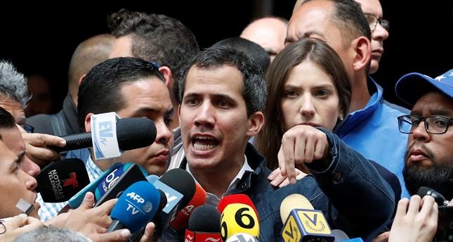 غوايدو يدعو لمظاهرات حاشدة السبت في فنزويلا