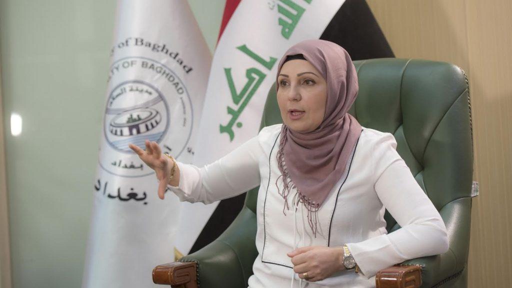 الموسوي يمهل امينة بغداد شهرا لاستكمال المشاريع ويهدد باقالتها