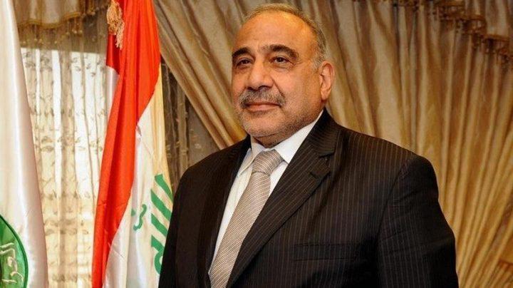 رئيس الوزراء العراقي يبحث مع المجلس الوطني الوضع الامني في نينوى