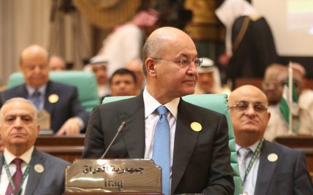 الرئيس العراقي يتعرض لضغوط كبيرة .