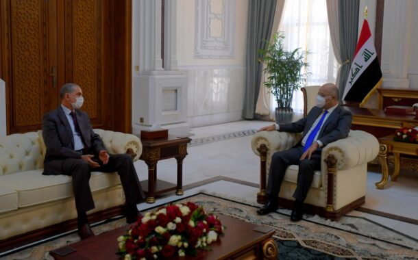 رئيس الجمهورية يستقبل وزير الداخلية.