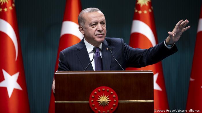 أردوغان يصف إسرائيل